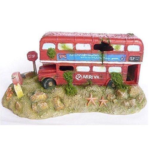 Fish Tank Ornament London Bus