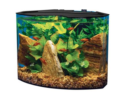 Tetra Crescent Acrylic Corner Aquarium Kit