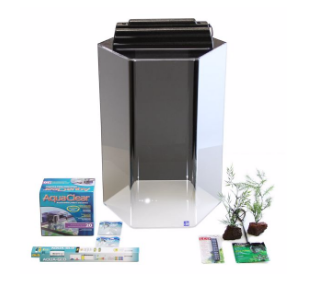 20 gallon fish tanks aquariums kits stands for 20 gallon hexagon fish tank