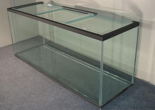 190 gallon tall glass aquarium